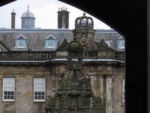 A Glimpse into Holyrood Palace - Edinburgh Scotland - by Anika Mikkelson - Miss Maps - www.MissMaps.com