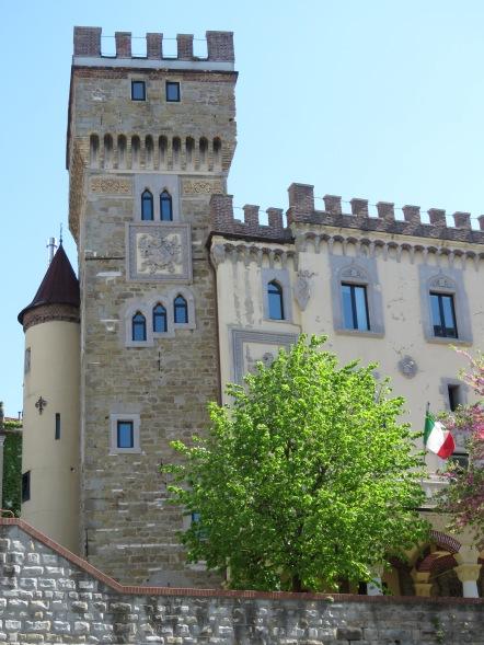 A university building - Trieste Italy - by Anika Mikkelson - Miss Maps - www.MissMaps.com