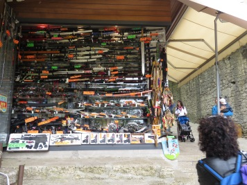Ammunition Shops and Babies in San Marino - by Anika Mikkelson - Miss Maps - www.MissMaps.com