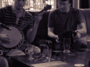 An Intimate Pub Performance at Knox's in Ennis Ireland - Shamrocker Adventure Tours - by Anika Mikkelson - Miss Maps - www.MissMaps.com