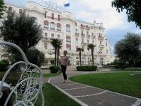 At Grand Hotel Rimini - Rimini Italy - by Anika Mikkelson - Miss Maps - www.MissMaps.com
