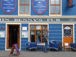 Benny's Pub - Dingle Ireland - by Anika Mikkelson - Miss Maps - www.MissMaps.com