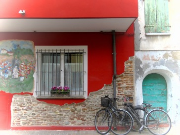 Bicis and Flores - Rimini Italy - by Anika Mikkelson - Miss Maps - www.MissMaps.com