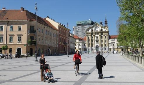 Bike, Roll, Walk - Ljubljana Slovenia - by Anika Mikkelson - Miss Maps - www.MissMaps.com