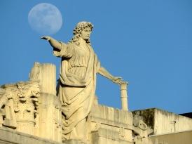 Blanacing the Moon - Trieste Italy - by Anika Mikkelson - Miss Maps - www.MissMaps.com