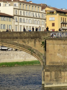 Bridge Bonding - Florence Italy - by Anika Mikkelson - Miss Maps - www.MissMaps.com