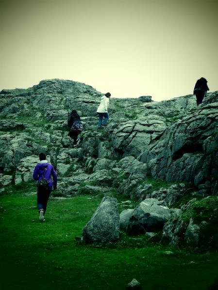 Climbing the Cliffs of Burren Ireland - Shamrocker Adventure Tours - by Anika Mikkelson - Miss Maps - www.MissMaps.com