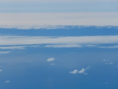 Clouds and Glaciers melting into the sea - Iceland - by Anika Mikkelson - Miss Maps - www.MissMaps.com
