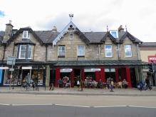 Coffee Lounge of Pitlochry Scotland - by Anika Mikkelson - Miss Maps - www.MissMaps.com