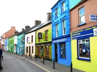 Colorful Shops of Dingle Ireland - by Anika Mikkelson - Miss Maps - www.MissMaps.com