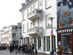 Downtown - Reykjavik Iceland - by Anika Mikkelson - Miss Maps - www.MissMaps.com