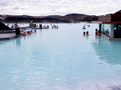 Early morning at the Blue Lagoon Iceland - by Anika Mikkelson - Miss Maps - www.MissMaps.com