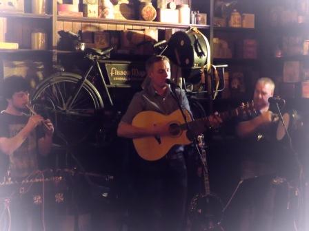 Fibber Magees Trio - Northern Ireland - by Anika Mikkelson - Miss Maps - www.MissMaps.com