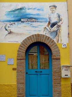 Fisherman's Door - Rimini Italy - by Anika Mikkelson - Miss Maps - www.MissMaps.com