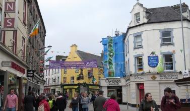 Galway Ireland - by Anika Mikkelson - Miss Maps - www.MissMaps.com