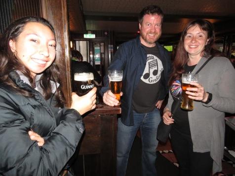 Guinness Time - Knox's Bar Ennis Ireland - Shamrocker Adventure Tours - by Anika Mikkelson - Miss Maps - www.MissMaps.com
