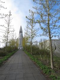 Hallgrímskirkja Church - Reykjavik Iceland - by Anika Mikkelson - Miss Maps - www.MissMaps.com