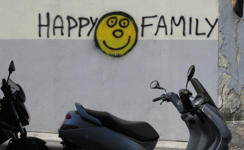 Happy Family - Trieste Italy - by Anika Mikkelson - Miss Maps - www.MissMaps.com