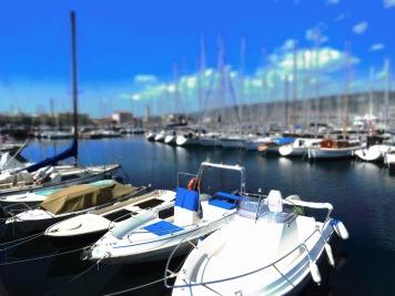 Harbors awaiting - Trieste Italy - by Anika Mikkelson - Miss Maps - www.MissMaps.com