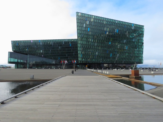 Harpa Concert Hall - Reykjavik Iceland - by Anika Mikkelson - Miss Maps - www.MissMaps.com