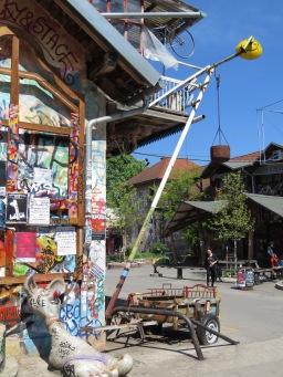Hercules Foot - Ljubljana Slovenia - by Anika Mikkelson - Miss Maps - www.MissMaps.com