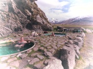 Honeymooners in thermal pools of Iceland - by Anika Mikkelson - Miss Maps - www.MissMaps.com