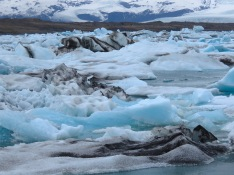 Icebergs in Iceland - by Anika Mikkelson - Miss Maps - www.MissMaps.com