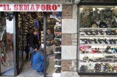 Il Semaforo - Weaponry not allowed in surrounding Italy San Marino - by Anika Mikkelson - Miss Maps - www.MissMaps.com