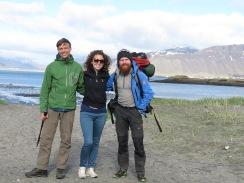 Hiking Buddies - Western Iceland - by Anika Mikkelson - Miss Maps - www.MissMaps.com