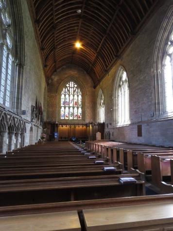 Inside Dunkeld Cathedral - Scotland - by Anika Mikkelson - Miss Maps - www.MissMaps.com