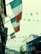 Irish Flags of Galway Ireland - by Anika Mikkelson - Miss Maps - www.MissMaps.com