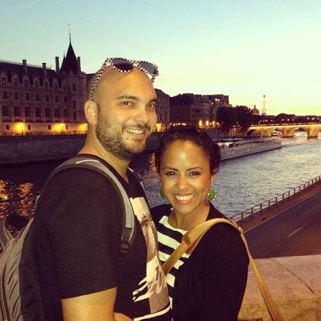 Jelitsa and her husband Zak - MissMaps.com Featured Female Traveler