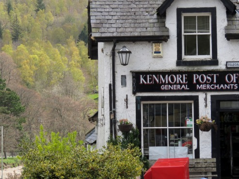 Kenmore Post - Scotland - by Anika Mikkelson - Miss Maps - www.MissMaps.com