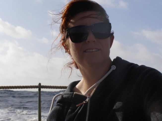 Kirsty Sailing aboard the classic yacht - by Kirsty Mullahy - MissMaps.com Featured Female Traveler