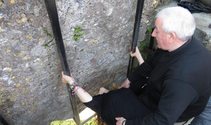 Kissing the Blarney Stone - Ireland - by Anika Mikkelson - Miss Maps - www.MissMaps.com