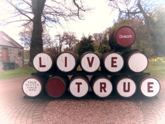 Live True at Dewar's Distillery in Scotland - by Anika Mikkelson - Miss Maps - www.MissMaps.com