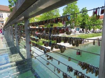 Locks of Love - Ljubljana Slovenia - by Anika Mikkelson - Miss Maps - www.MissMaps.com
