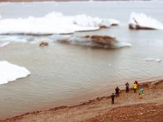 Mammoth Icebergs - Iceland - by Anika Mikkelson - Miss Maps - www.MissMaps.com