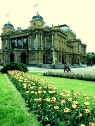 Marshal Tito Square - Zagreb Croatia - by Anika Mikkelson - Miss Maps - www.MissMaps.com