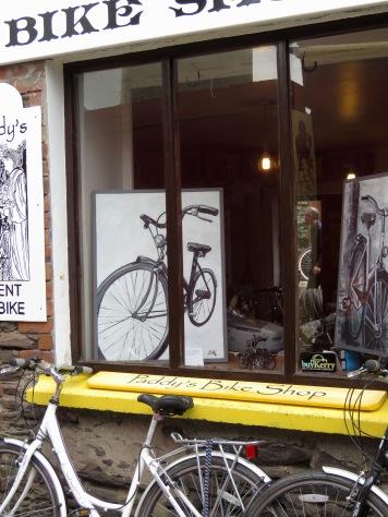 Paddy's Bike Shop - Dingle Ireland - by Anika Mikkelson - Miss Maps - www.MissMaps.com
