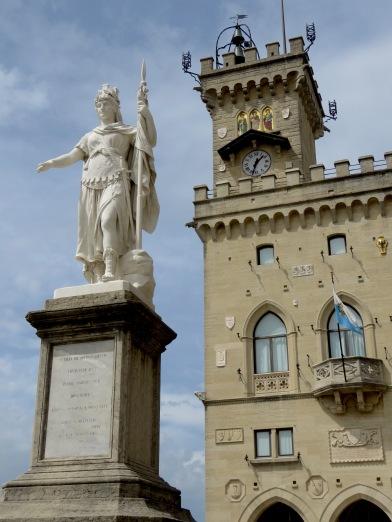 Palazzo Publicco in San Marino - by Anika Mikkelson - Miss Maps - www.MissMaps.com