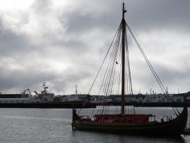 Pirate Ships - Reykjavik Iceland - by Anika Mikkelson - Miss Maps - www.MissMaps.com