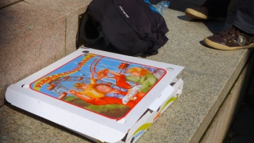 Pizzaaaaaaa - Venice Italy - by Anika Mikkelson - Miss Maps - www.MissMaps.com