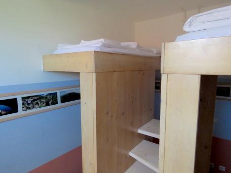 Platform bedding - Hotel Celiac Ljubljana Slovania - by Anika Mikkelson - Miss Maps - www.MissMaps.com