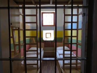Rainbow Cell of Hotel Celiac Ljubljana Slovania - by Anika Mikkelson - Miss Maps - www.MissMaps.com