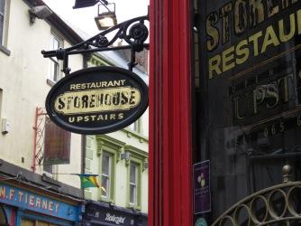 Restaurant Storehouse - Knox Pub - Ennis Ireland - by Anika Mikkelson - Miss Maps - www.MissMaps.com
