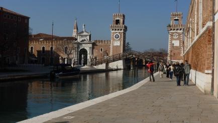 The Bridge - Venice Italy - by Anika Mikkelson - Miss Maps - www.MissMaps.com