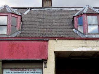 Roofs of Pitlochry Scotland - by Anika Mikkelson - Miss Maps - www.MissMaps.com