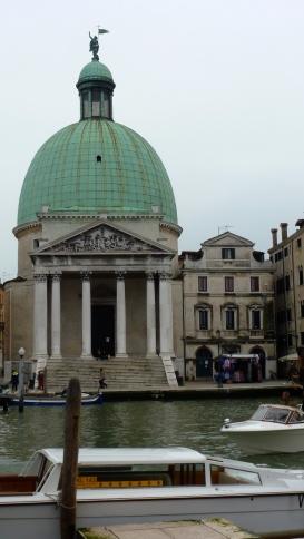 San Simeone Piccolo - Venice Italy - by Anika Mikkelson - Miss Maps - www.MissMaps.com