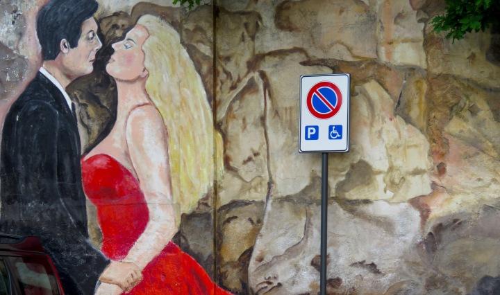 Scenes from Fellini's Films in Rimini Italy - by Anika Mikkelson - Miss Maps - www.MissMaps.com
